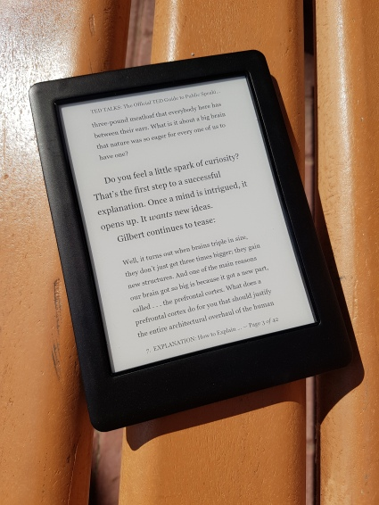 Review Kobo Glo HD Direct Sunlight
