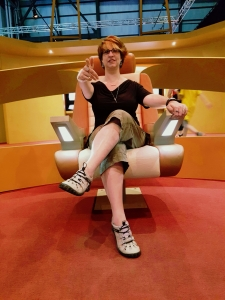 Star Trek The Starfleet Academy Experience at the CASM Captain Chantal