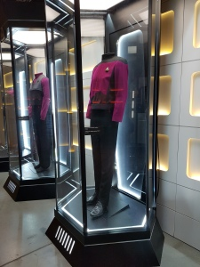Star Trek The Starfleet Academy Experience at the CASM Commander Uniforms