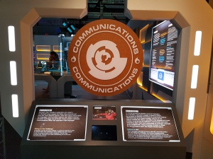 Star Trek The Starfleet Academy Experience at the CASM Communications