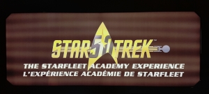 Star Trek The Starfleet Academy Experience at the CASM Logo