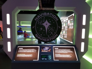 Star Trek The Starfleet Academy Experience at the CASM Navigation