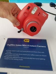 Ottawa RBC Bluesfest: Fujifilm Instax Min