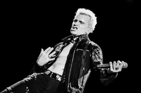 Billy Idol Live at the RBC Bluesfest in Ottawa, Ontario