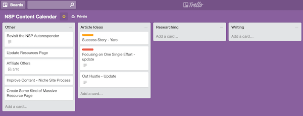 Project Management Tools and Techniques for Entrepreneurs and Small Business - Trello