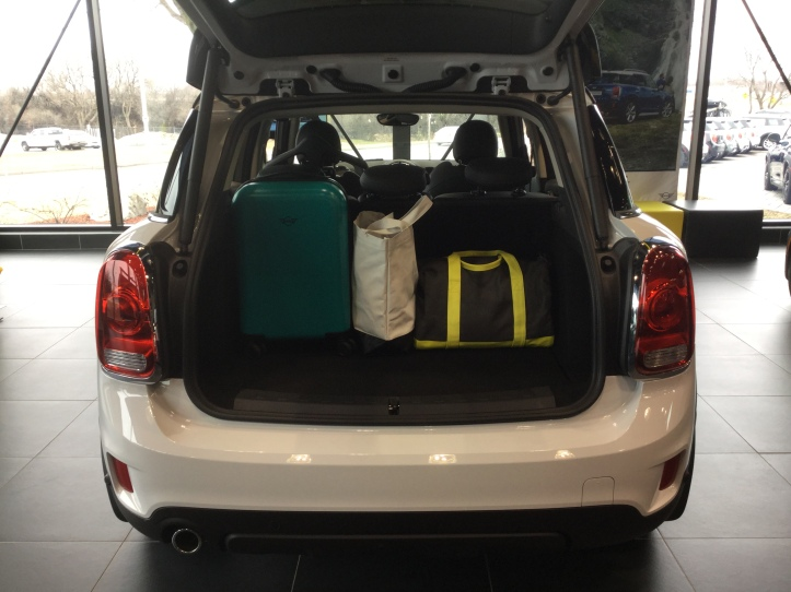 MINI Countryman Trunk Space