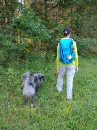 Me in the Woods wih my Deuter Backpack