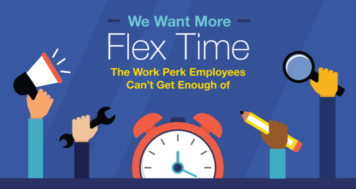 We Want More Flex Time - Work Perks